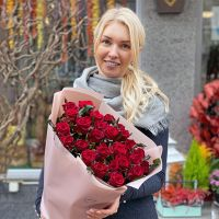 Promo! 25 red roses